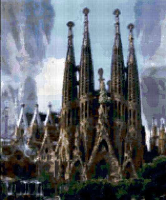 Барселона., город