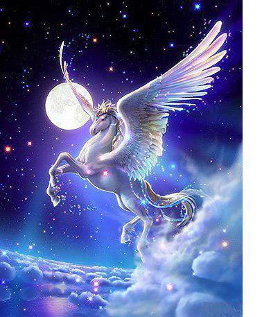 Крылатый конь, животные, конь,