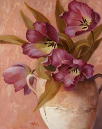 Фиолетовые тюльпаны, оригинал