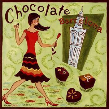 Испанский шоколад, город