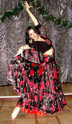 Картинки по запросу цыганский танец картинки