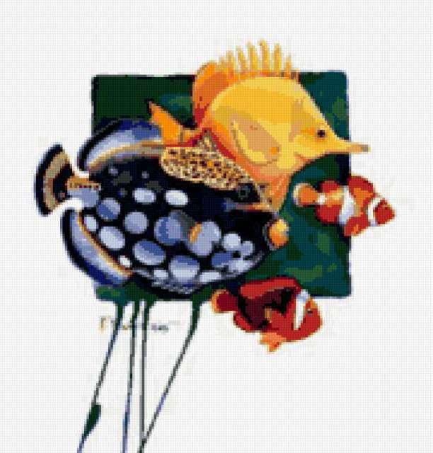 Клоун рыбы, предпросмотр