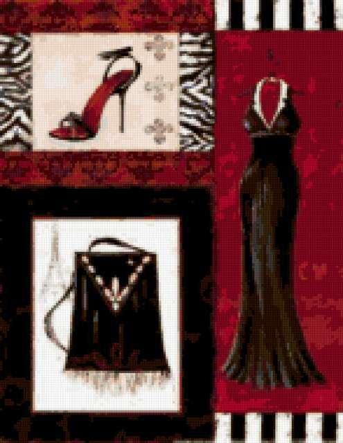 Мода Коллаж, мода