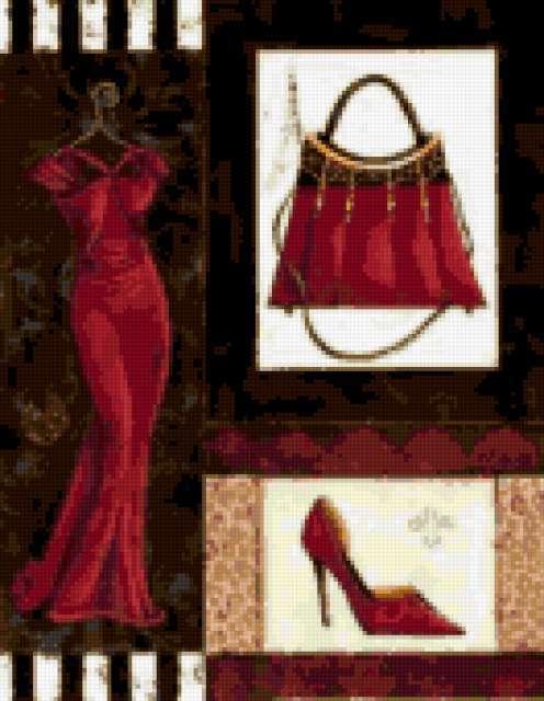 Мода Коллаж, предпросмотр