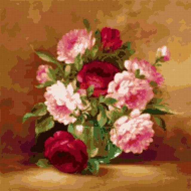 Пионы, букет, букеты, цветы,
