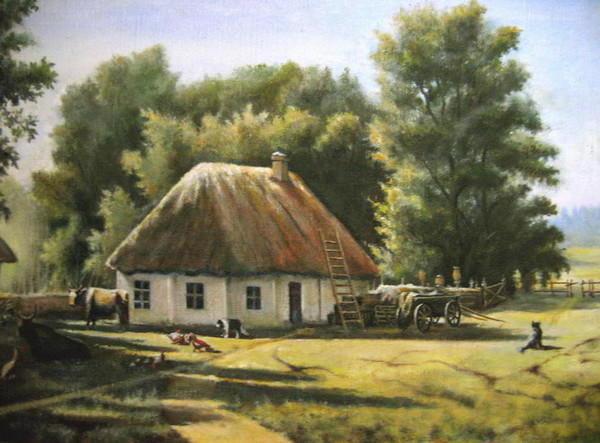 Деревенский дом, оригинал