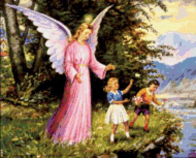 Ангел хранитель с ними всегда,