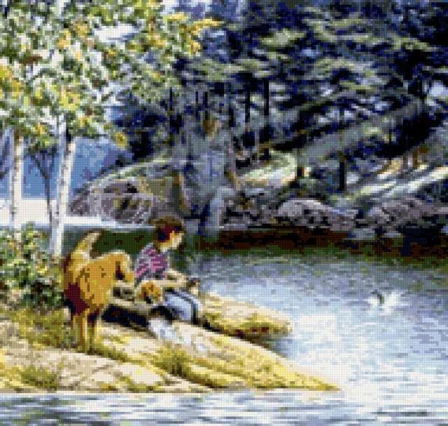 Незримый рыбак, предпросмотр