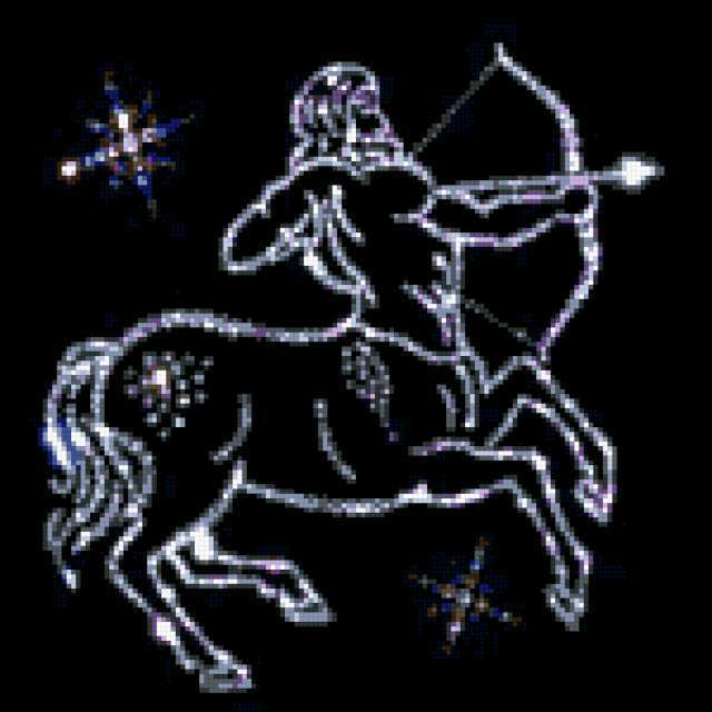 Вышивка знак зодиака стрелец