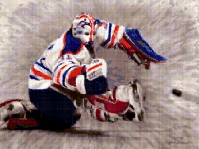 картина, спорт, хоккей,
