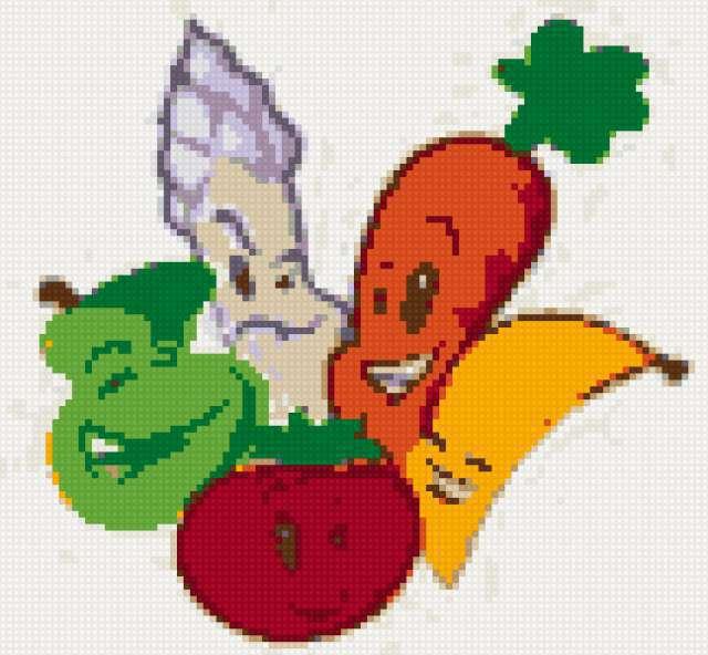 Овощи и фрукты, фрукты, овощи