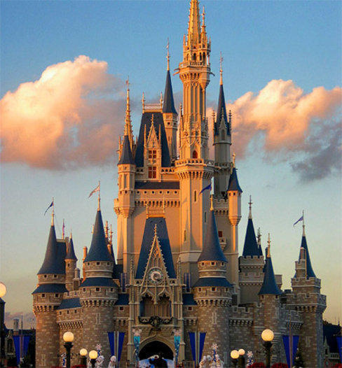 Замок диснея, оригинал