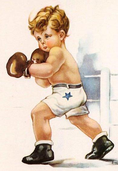 дети, мальчик, бокс, спорт