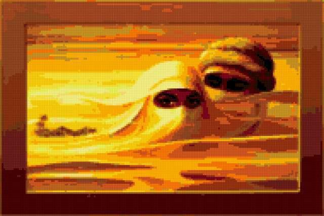 Двое в пустыне, предпросмотр