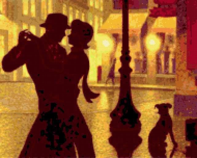 Танец под дождем, любовь,
