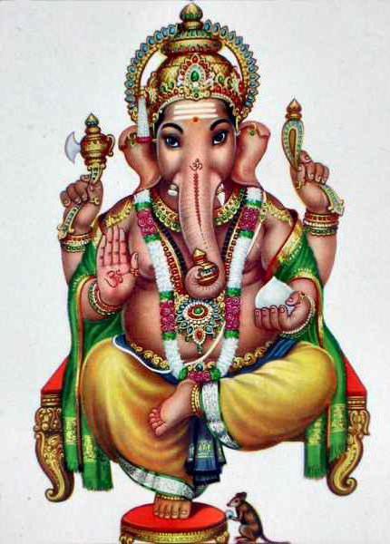Ганеша,бог мудрости, оригинал
