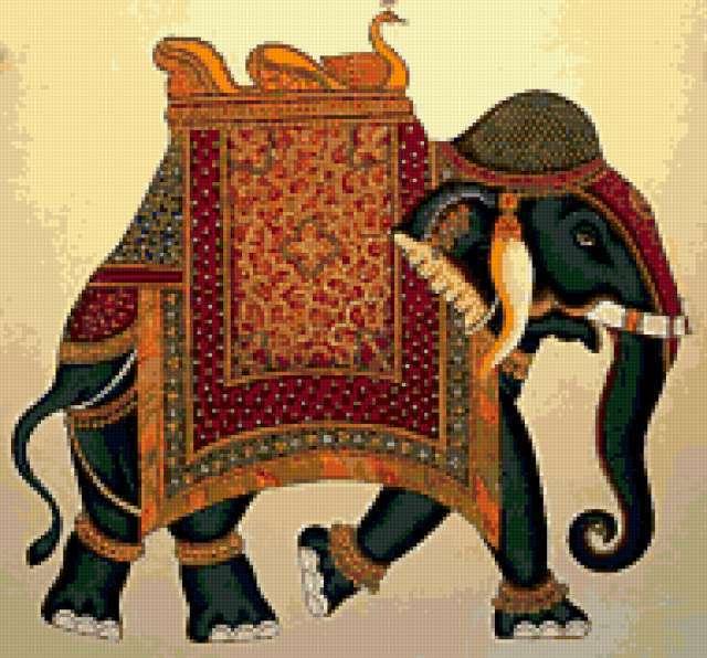 Индийский слон, предпросмотр