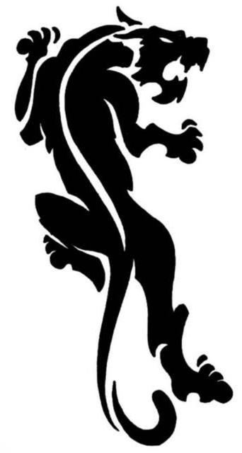 Пантера (бисером), оригинал