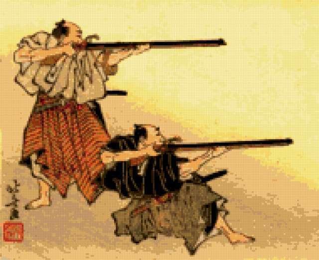 Стрелки самураи., предпросмотр