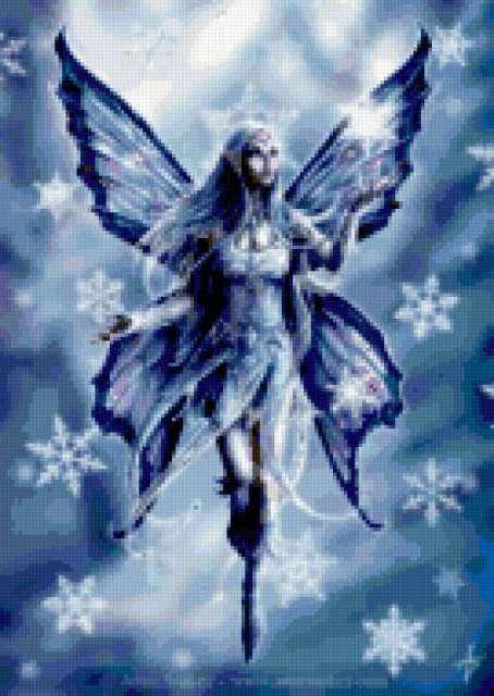 Зимняя фея, предпросмотр