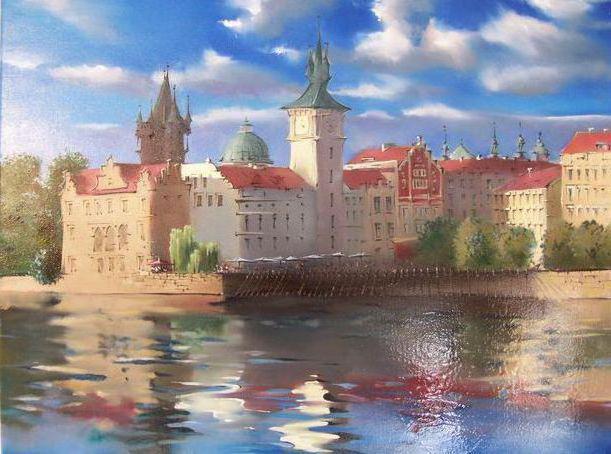 Прага, город, страна, пейзаж