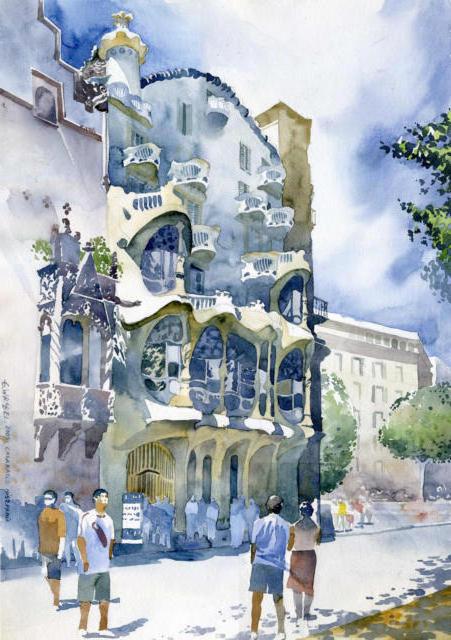 Барселона.Испания, город