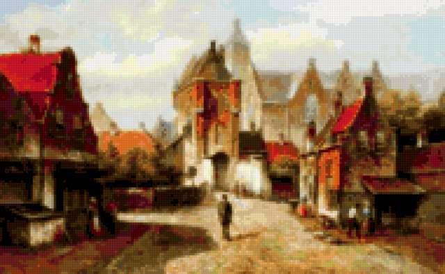 Летние улицы старого города,