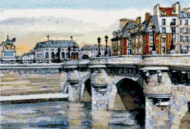 Новый мост Париж, предпросмотр