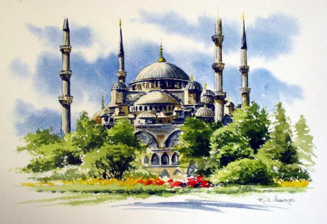 Стамбул.Турция, город, пейзаж,