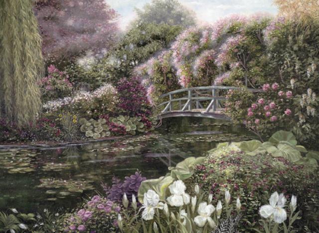 Цвети,мой Райский Сад!, пейзаж