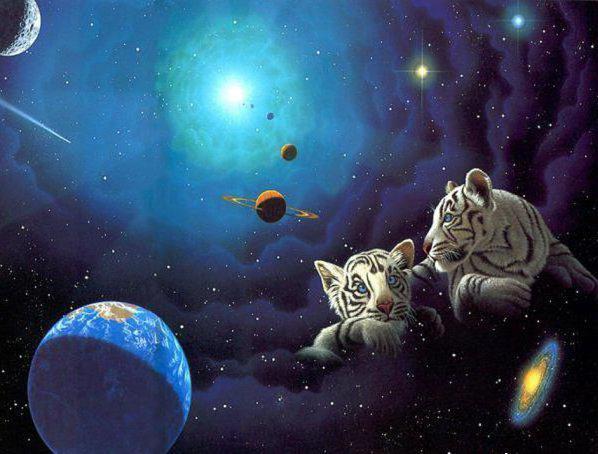 Барсы и вселенная, оригинал