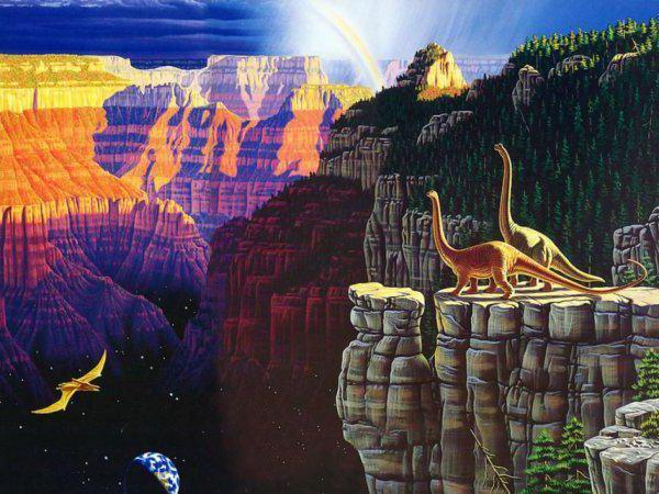 Мир динозавров, динозавры