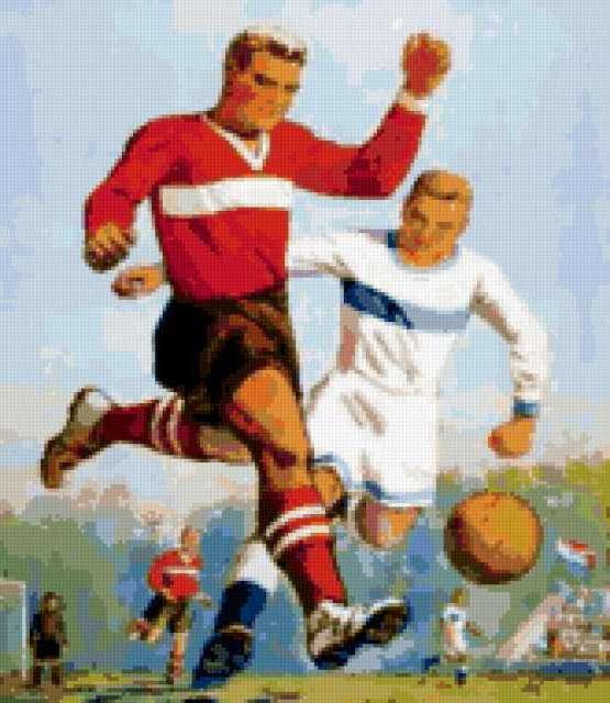 Ретро футбол, ретро, спорт,