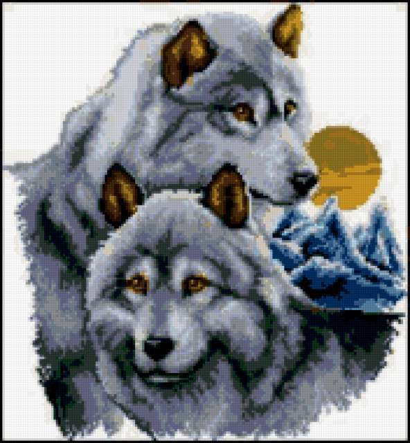 Два волка, предпросмотр