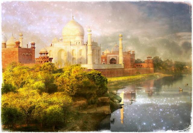 Агра - Тадж Махал.Индия,