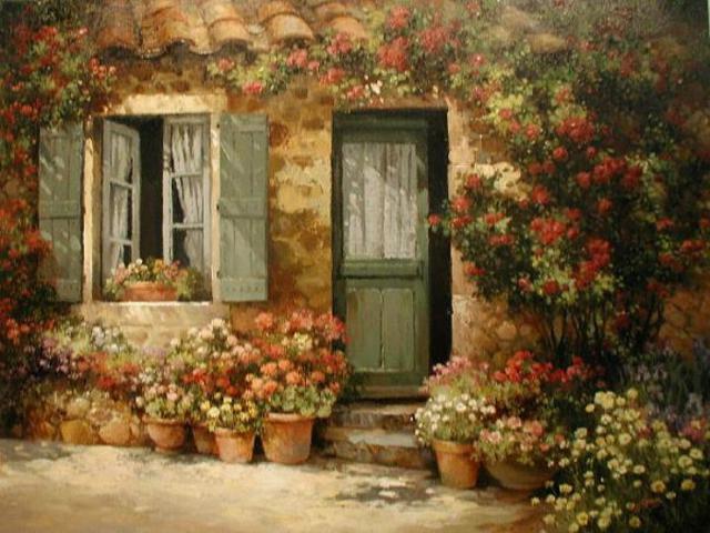Уютные дворы Италии, оригинал