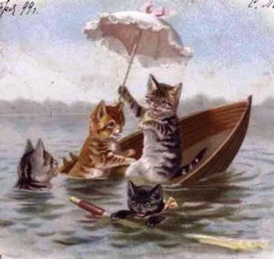 зонтик в живописи: