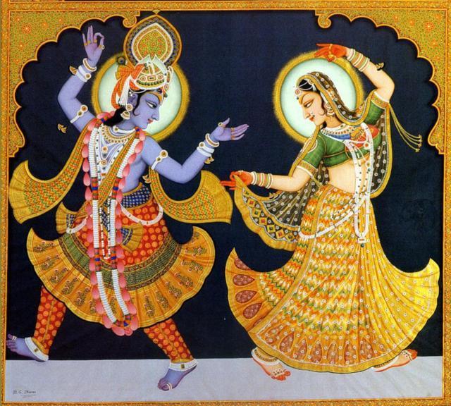 Индийские мотивы, оригинал