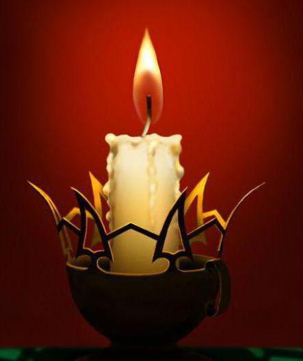 Свет свечи, свечка, пламя,