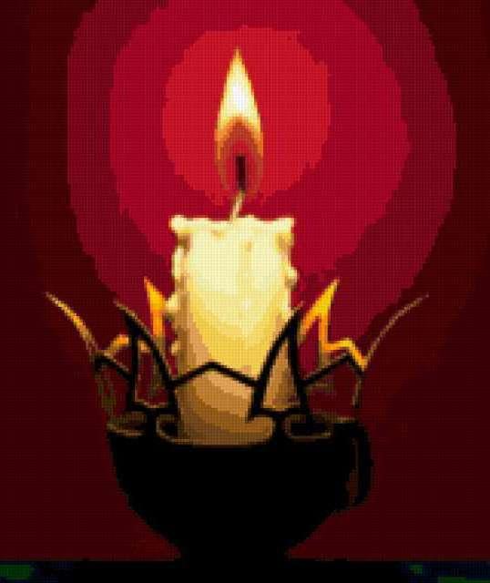 Свет свечи, предпросмотр