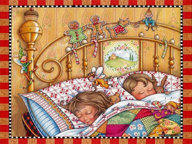 Под лоскутным одеялом, картина