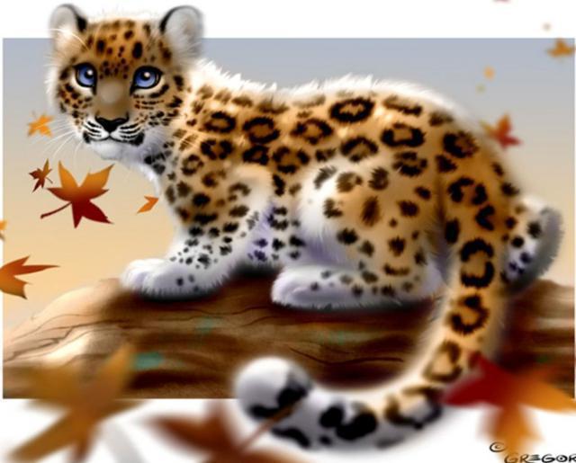 Котёнок ягуара, искусство