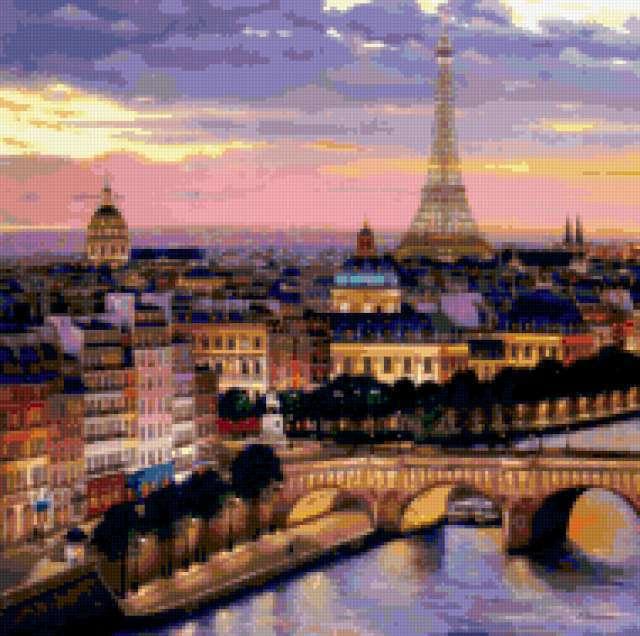 Вечерний Париж, предпросмотр