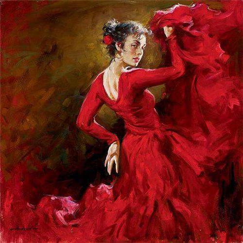 Фламенко танец страсти.