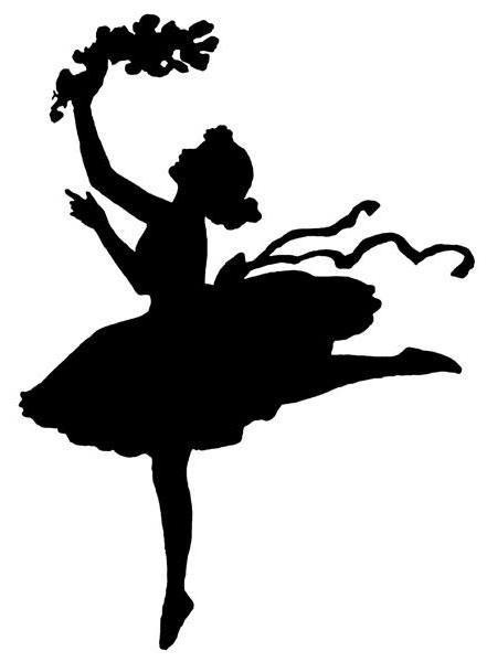 Танец.Серия,,Силуэт,,