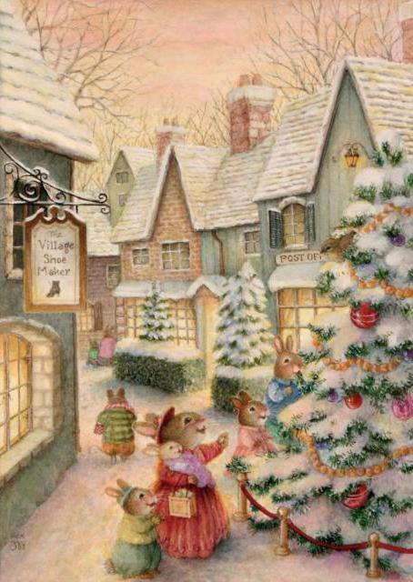 Картинки кролик заяц новый год