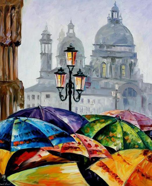 Дождливый день в Венеции ,