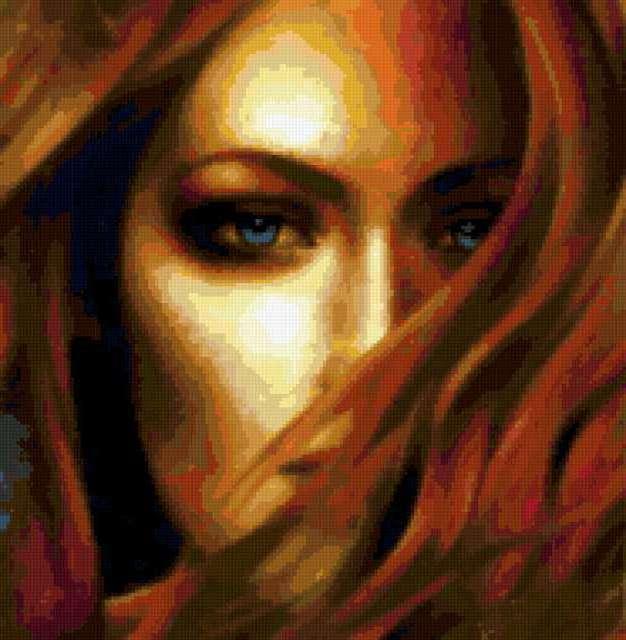 Портрет незнакомки, портрет