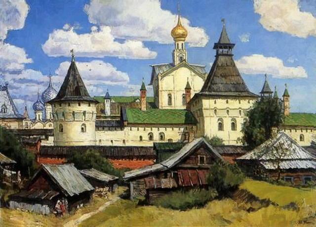 Защитные стены кремля