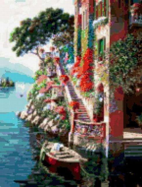 Причал в Венеции, предпросмотр